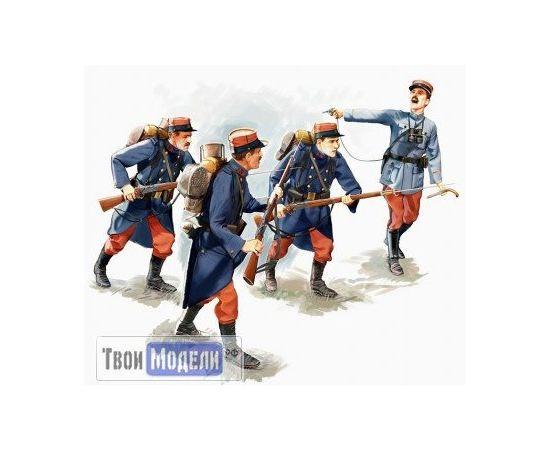 Склеиваемые модели  ICM 35682 Французская пехота война 1914 г. tm01379 купить в твоимодели.рф