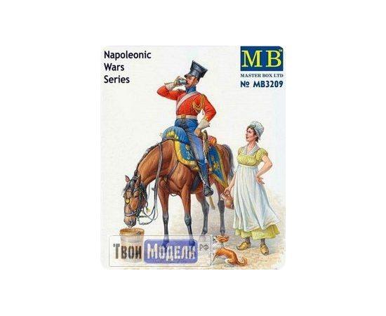 Склеиваемые модели  MB 3209 Красный улан период Наполеоновских войн tm01513 купить в твоимодели.рф