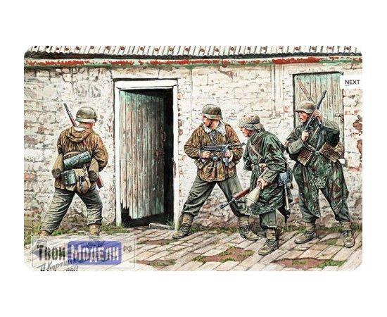 Склеиваемые модели  MB 3584 Немецкая пехота в Западной Европе 1944-1945 tm01500 купить в твоимодели.рф