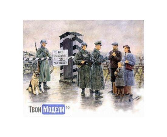 Склеиваемые модели  Master Box 3527 Немецкий блокпост tm01497 купить в твоимодели.рф