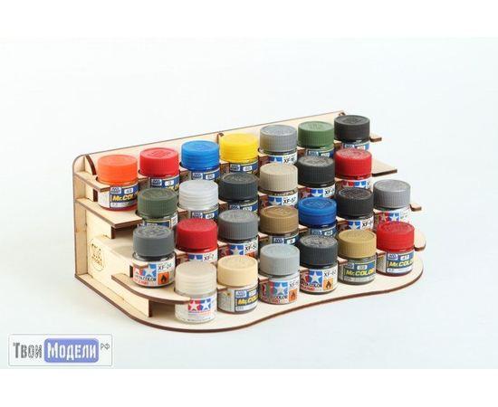 Оборудование для творчества VM Models М3987 Полка под краску №1 tm01181 купить в твоимодели.рф