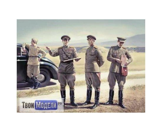 Склеиваемые модели  ICM 35612 Советские генералы 2МВ tm01289 купить в твоимодели.рф