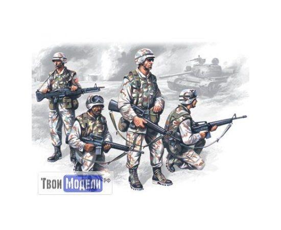 Склеиваемые модели  ICM 35201 Элитные подразделения армии США в Ираке tm01311 купить в твоимодели.рф