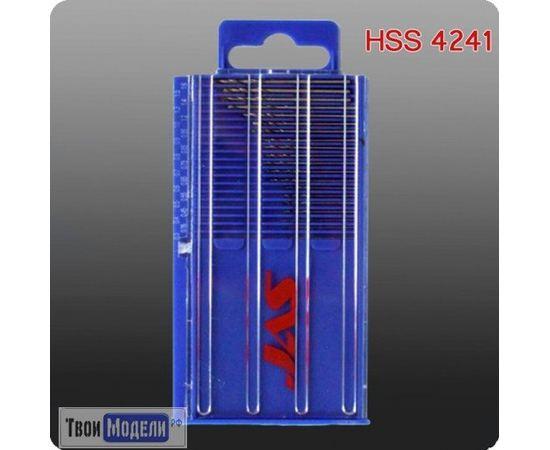 Оборудование для творчества JAS 4271 Мини-сверла  ∅ 0,3 - 1,6 мм, HSS 4241 набор tm00956 купить в твоимодели.рф