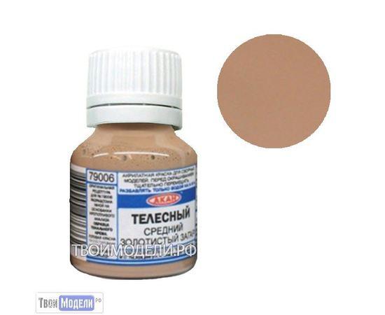 Необходимое для моделей АКАН 79006 Телесный - загар 15мл # Краска tm00852 купить в твоимодели.рф