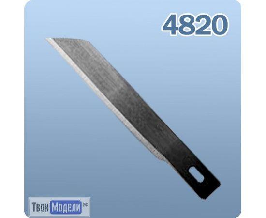 Оборудование для творчества JAS 4820 Набор лезвий к ножу 0,6 х 9 х 80 мм 6 шт. tm01093 купить в твоимодели.рф