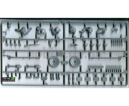 Склеиваемые модели  zvezda 3610 Звезда ПАК-36 Немецкая пушка с расчетом 1/35 tm00877 купить в твоимодели.рф