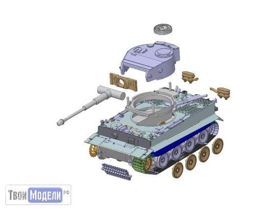 Склеиваемые модели  zvezda 5002 Звезда T-VI ТИГР Немецкий тяжелый танк tm01220 купить в твоимодели.рф