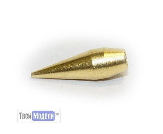 Аэрографы, компрессоры, ЗИП JAS 5222 Сопло для аэрографа, конус, диаметр 0,2 мм tm01273 купить в твоимодели.рф