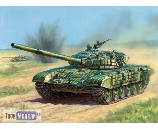 Склеиваемые модели  zvezda 3551 Звезда Т-72Б Российский танк с активной броней tm00885 купить в твоимодели.рф