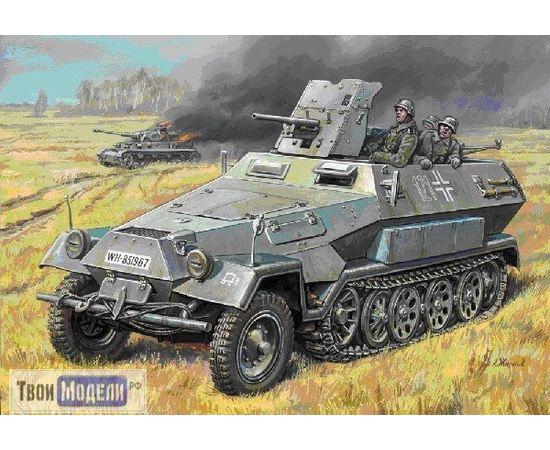 Склеиваемые модели  zvezda 3588 Звезда Бронетранспортер «Ханомаг» с орудием tm00874 купить в твоимодели.рф