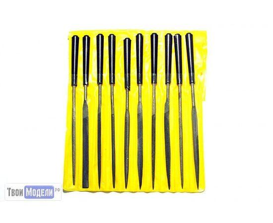 Оборудование для творчества JAS 4301 Набор надфилей с ручками. 10шт., чехол tm01184 купить в твоимодели.рф