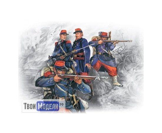 Склеиваемые модели  ICM 35061 Французская линейная пехота (1870-71) tm01235 купить в твоимодели.рф