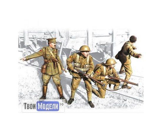 Склеиваемые модели  ICM 35301 Британская пехота 1917-1918 tm01286 купить в твоимодели.рф