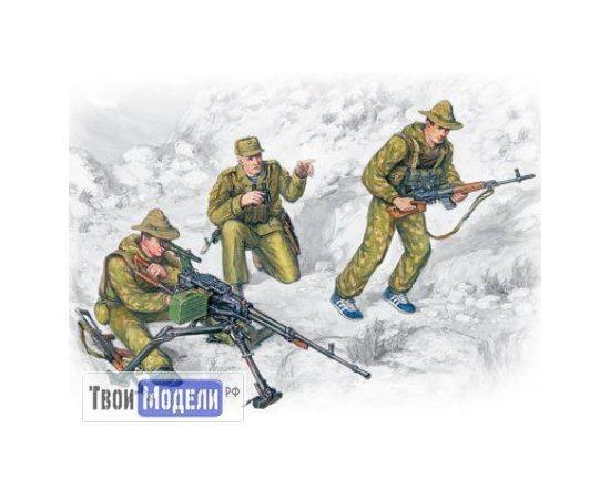Склеиваемые модели  ICM 35501 Советский спецназ, война в Афганистане tm01291 купить в твоимодели.рф