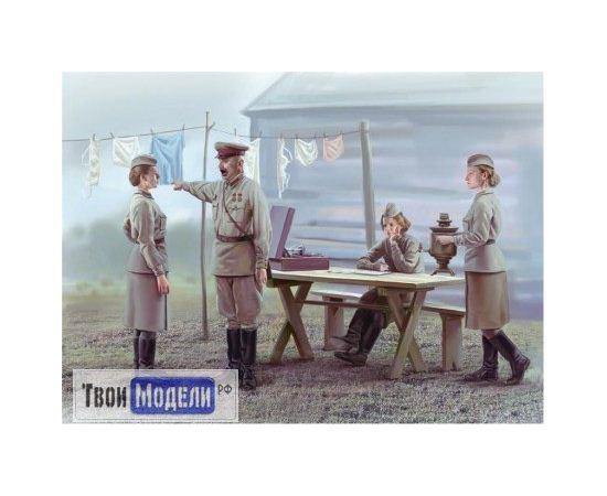Склеиваемые модели  ICM 35621 Советские женщины 1941-1942г tm01295 купить в твоимодели.рф