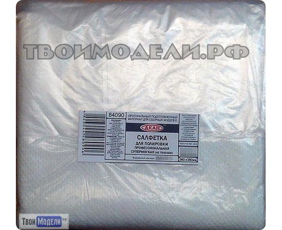 Масштабные модели АКАН 84090 Салфетка для полировки - белая (1 шт.) tm01122 купить в твоимодели.рф