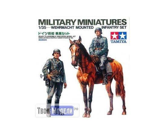 Склеиваемые модели  Tamiya 35053 Немецкие кавалерист и пехотинец tm01443 купить в твоимодели.рф