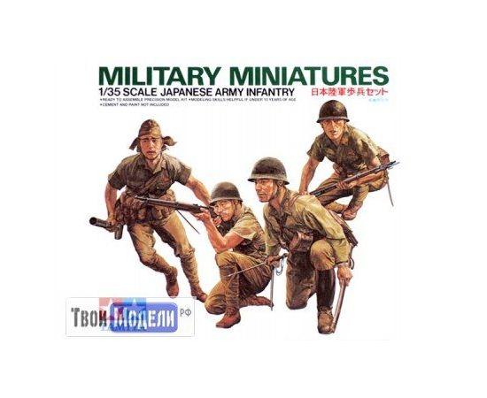 Склеиваемые модели  Tamiya 35090 Японские пехотинцы в атаке tm01454 купить в твоимодели.рф