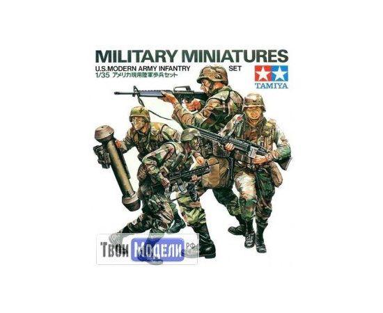 Склеиваемые модели  Tamiya 35133 Американские современные пехотинцы tm01458 купить в твоимодели.рф