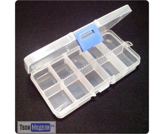 Оборудование для творчества JAS 9041 Коробочка для мелочи, 10 отд., 13 х 7 см tm01130 купить в твоимодели.рф