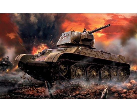 Склеиваемые модели  zvezda 3525 Звезда Т-34/76 Советский средний танк. tm00872 купить в твоимодели.рф