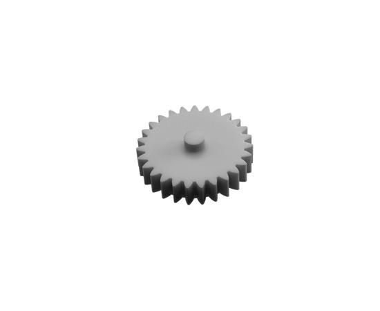 Готовые напечатанные 3D модели Шестерня 27T Hewlett Packard вращения резинового вала термопечки 3D печать tm-19-9470 купить в твоимодели.рф