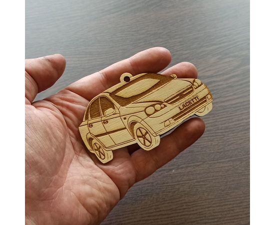 Изделия из дерева (фанеры) Chevrolet Lacetti брелок подвеска на зеркало автомобиля 10см из дерева tm-19-9487 купить в твоимодели.рф