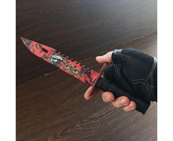 Изделия из дерева (фанеры) Нож M-9 камуфляж Alien CS:GO из дерева в ножнах сувенирный tm-19-9491-02 купить в твоимодели.рф