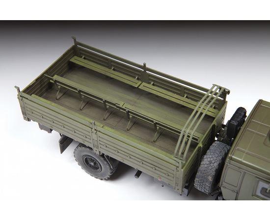 Склеиваемые модели  Камаз К-4350 Российский двухосный грузовой автомобиль модель в масштабе 1/35 Звезда 3692 tm-19-8717 купить в твоимодели.рф