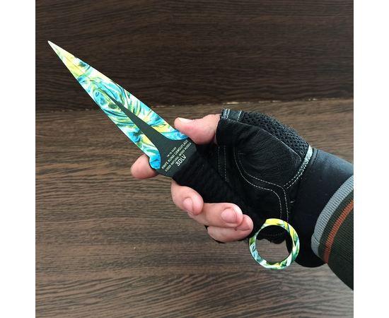 Изделия из дерева (фанеры) Нож кунай камуфляж в ассортименте Alien CS:GO из дерева в ножнах сувенирный tm-19-9493 купить в твоимодели.рф