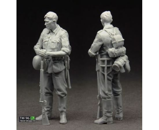 Склеиваемые модели  Stalingrad S-3535 Немецкий пехотинец tm01564 купить в твоимодели.рф
