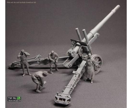 Склеиваемые модели  Stalingrad S-3556 Советский артеллерийский расчет 4 фигурки tm01577 купить в твоимодели.рф