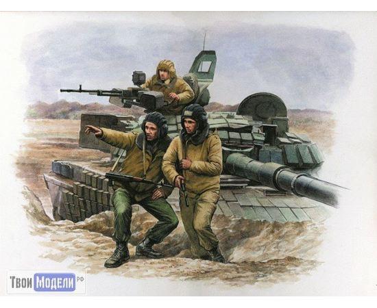 Склеиваемые модели  zvezda 3615 Звезда Российские танкисты tm01719 купить в твоимодели.рф