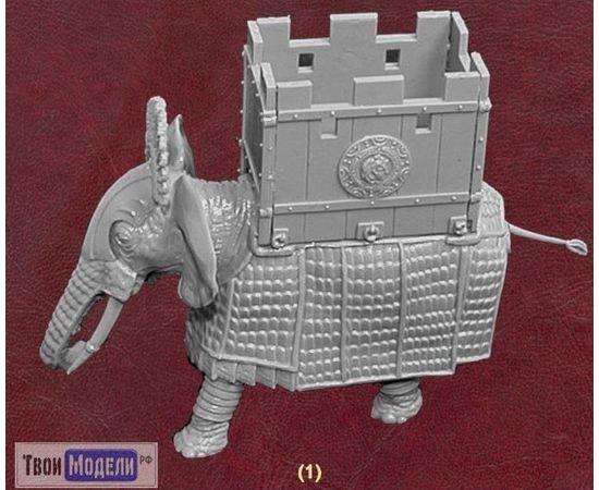 Склеиваемые модели  zvezda 8011 Звезда Боевые слоны III-I вв. до н.э. tm01697 купить в твоимодели.рф
