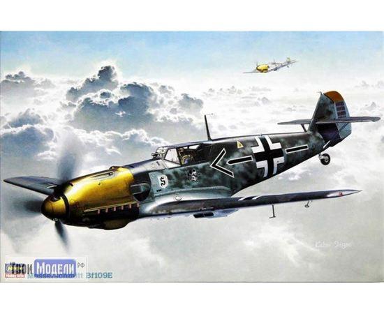 Склеиваемые модели  Hasegawa 08051 Bf-109E Самолет Мессершмитт tm01809 купить в твоимодели.рф