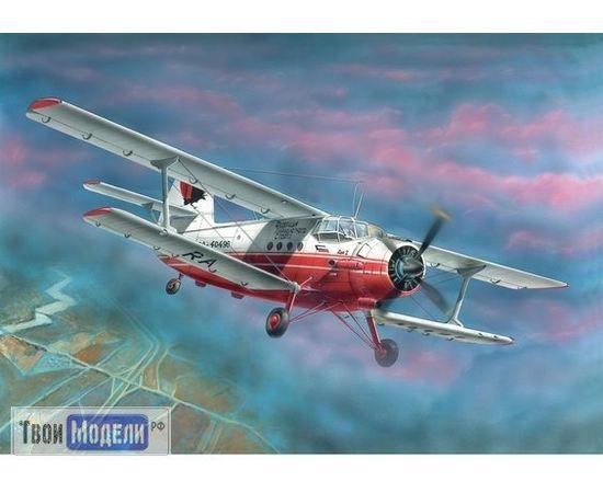 Склеиваемые модели  Моделист 207218 Ан-2 Многоцелевой самолет 1:72 tm01835 купить в твоимодели.рф