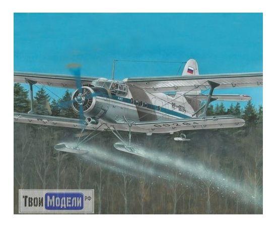 Склеиваемые модели  Моделист 207269 Ан-2 Многоцелевой самолет на лыжах tm01836 купить в твоимодели.рф