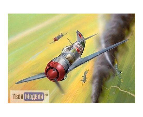 Склеиваемые модели  Revell 04374 ЛА-5 ФН Советский истребитель  (1/72) tm01821 купить в твоимодели.рф