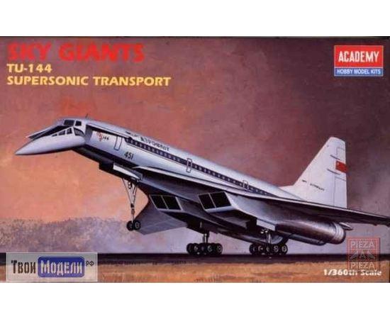 Склеиваемые модели  Academy 1699 Ту-144 Пассажирский авиалайнер tm01760 купить в твоимодели.рф
