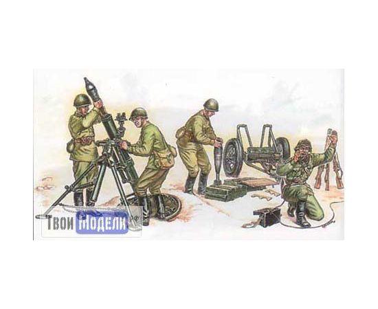 Склеиваемые модели  zvezda 3503 Звезда Советский 120 - мм миномёт tm01707 купить в твоимодели.рф