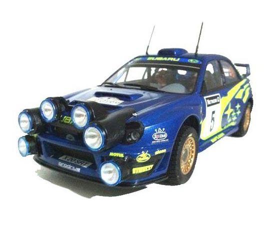 Склеиваемые модели  Tamiya 24250 Автомобиль Subaru Impreza WRC 2001 tm02321 купить в твоимодели.рф