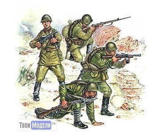 Склеиваемые модели  zvezda 3502 Звезда Пехота Красной Армии N2 tm01705 купить в твоимодели.рф