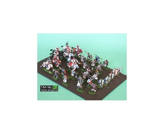 Склеиваемые модели  zvezda 8016 Звезда Ливонские рыцари tm01700 купить в твоимодели.рф