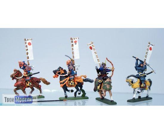 Склеиваемые модели  zvezda 8025 Звезда Конные самураи XVI - XVII вв. 1/72 tm01689 купить в твоимодели.рф