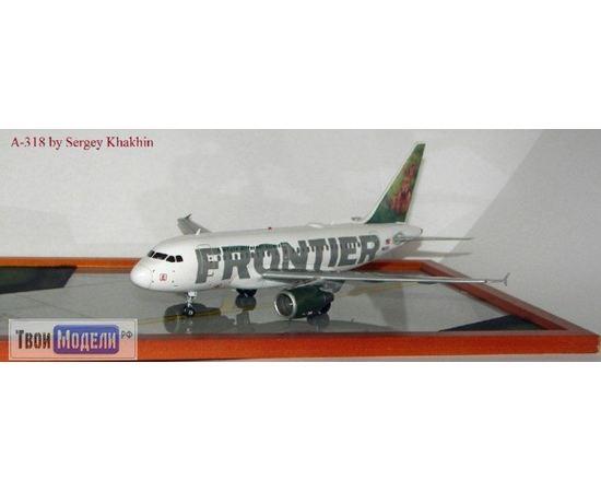 Склеиваемые модели  ЕЕ14434 А-318 Frontier Авиалайнер ЗАЯЦ Сборная модель tm01966 купить в твоимодели.рф