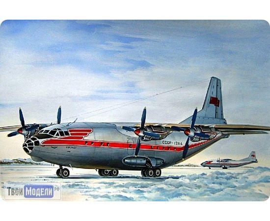 Склеиваемые модели  ЕЕ14475 Ан-12 Аэрофлот Транспортный самолет 1:144 tm01973 купить в твоимодели.рф