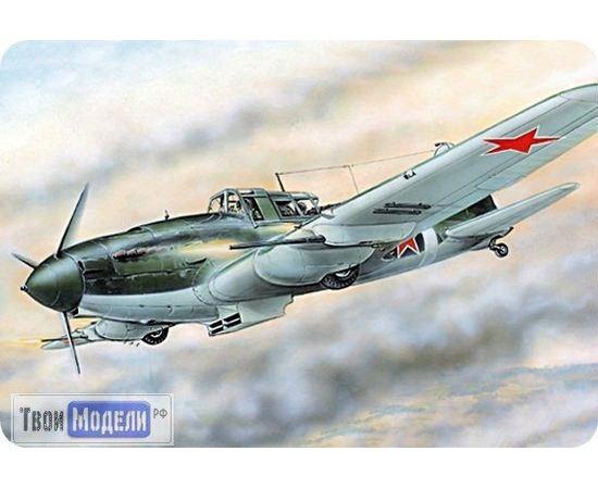 Склеиваемые модели  ЕЕ72217 Ил-2М3 Самолет с НС-37 Сборная модель tm01986 купить в твоимодели.рф