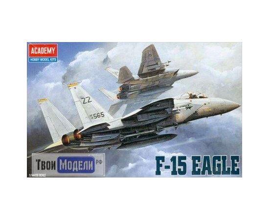 """Склеиваемые модели  Академия 4435 Самолет F-15 """"Игл 1:72"""" tm01762 купить в твоимодели.рф"""