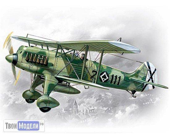Склеиваемые модели  ICM 72191 He.51 Испанский истребитель биплан 1/72 tm01928 купить в твоимодели.рф